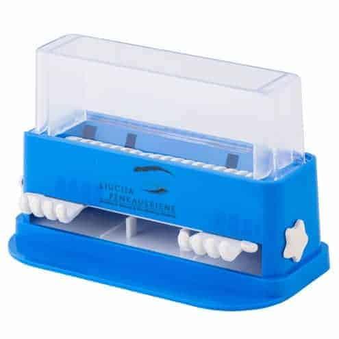 Disposable microbrush holder