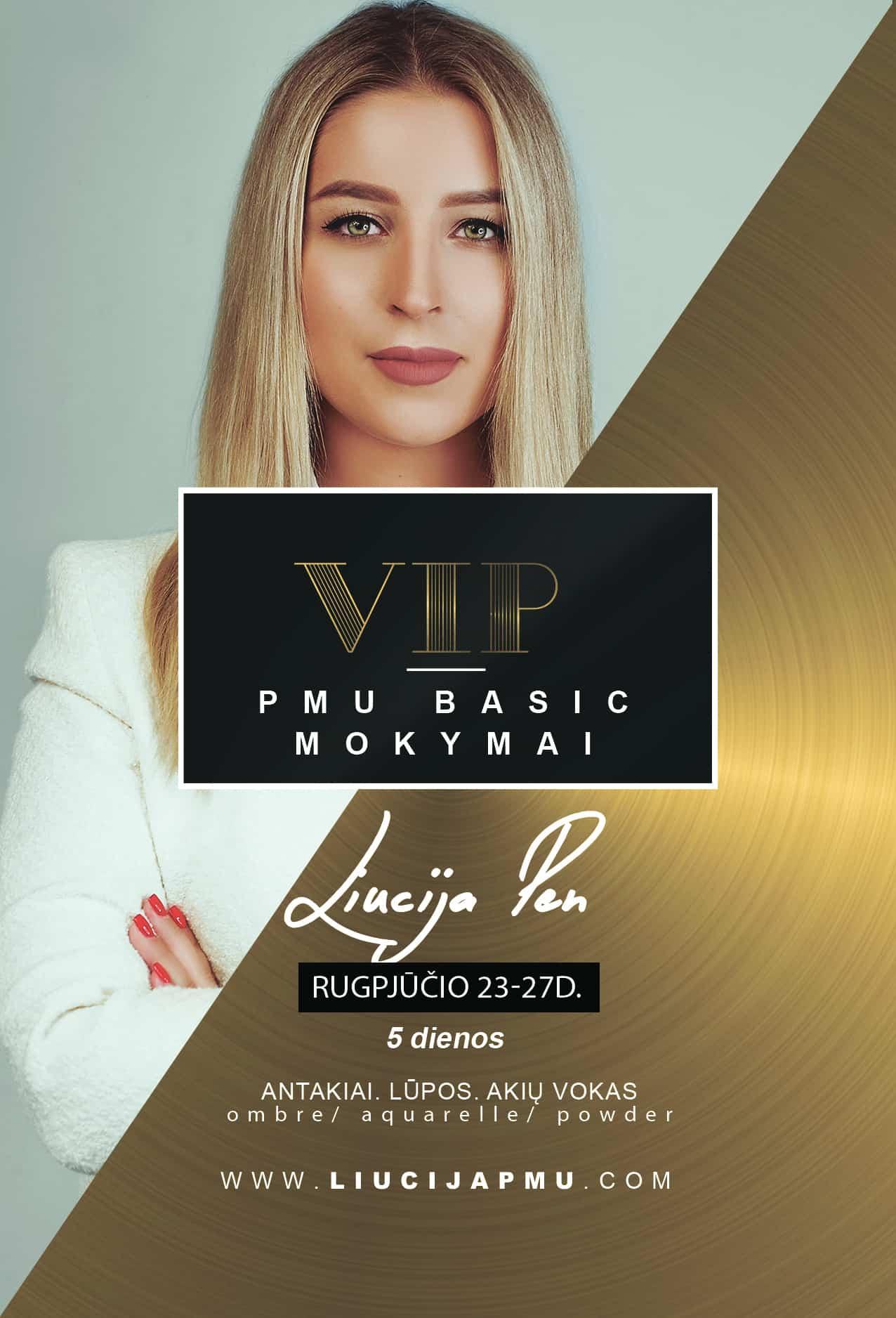 VIP Permanentinio makiažo mokymai