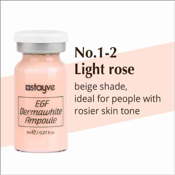 Stayve BB Glow Dermawhite Ampoule Serum NO. 1-2 (Light Rose) x 10