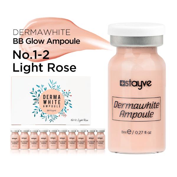 Stayve BB Glow Dermawhite Ampoule Serum NO. 1-2 (Light Rose) x 10